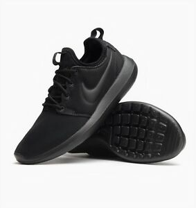 black nike trainers